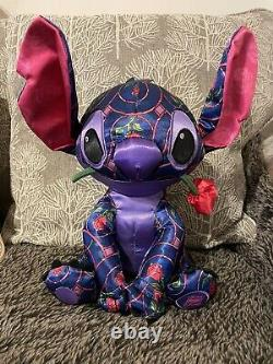 Stitch Crashes Disney Beauty and the Beast Limited Release Plush And Pin NWT