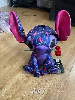 Stitch Crashes Disney Plush January 1/12 Beauty and the Beast Limited Release