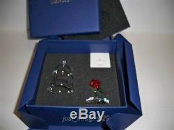 Swarovski Belle & Enchanted Rose From Disney Film Beauty And The Beast Bnib