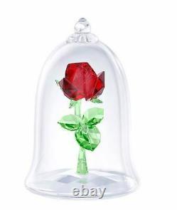 Swarovski Crystal 5230478 Disney Beauty and the Beast Enchanted Rose 9x6.2cm