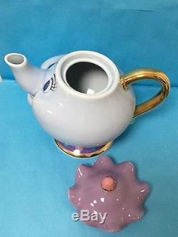 Tokyo Disney Resort Beauty and The Beast Mrs. Potts Tea Pot JAPAN EXCLUSIVE New