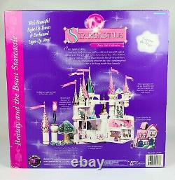Trendmasters Starcastles Beauty Beast Belle Castle Polly Pocket New Disney