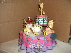 ULTRA RARE Enesco Disney's Beauty and the Beast Multi-Action Musical MINT IN BOX
