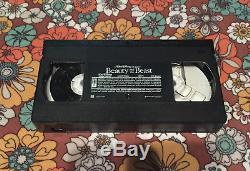 VTG Rare Walt Disney Classic Black Diamond VHS Tape Beauty and the Beast 1992