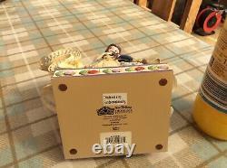 V Rare Disney Traditions belle/beauty&the Beast-moonlit Enchantment 9.5 Unbox