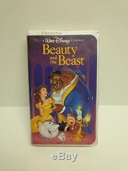 Vhs Movie, Beauty And The Beast (vhs, 1992) Rare Classic Disney Black Diamond, G