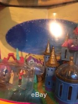 Vintage Disney Polly Pocket Beauty and The Beast Castle Bluebird Complete 1997