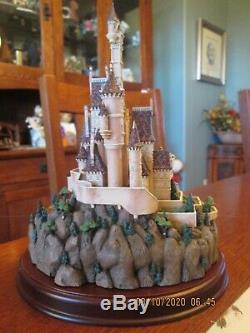 Vintage Disney's Beauty & The Beast Wdcc Enchanted Places The Beast's Castle