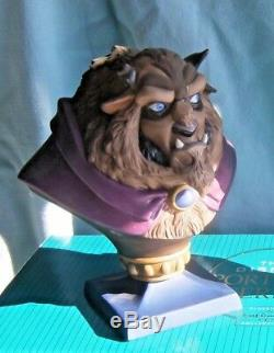 WDCC BEAUTY and The BEAST BUSTS Disney Portrait Series Figurines NEW BELLE RARE