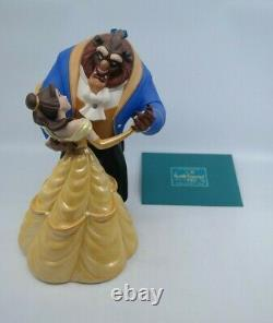 WDCC Beauty and the Beast TALE AS OLD AS TIME with Base & Opening Title & COAs