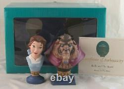 WDCC Belle and the Beast Portrait Series Beauty and the Beast in Box with COA