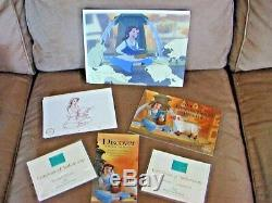 WDCC Disney 2005 Membership Exclusives Beauty & the Beast Belle with Sheep NIB