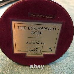 WDCC Disney Beauty And The Beast Table And Rose Enchanted Rose NEW IN BOX