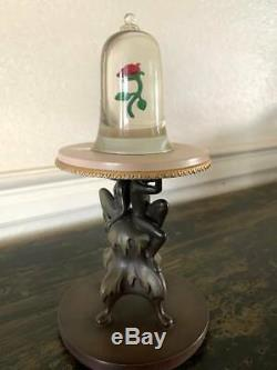 WDCC Disney Beauty And The Beast The Enchanted Rose Table- Box & COA