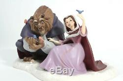 WDCC Disney Beauty and the Beast She Didnt Shudder At My Paw COA MINT NIB LE