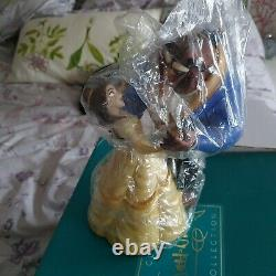 WDCC Disney Beauty and the beast classic Tale as old as time with COA