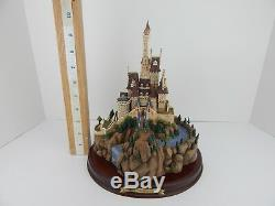WDCC From Disney Movie Beauty &The Beast The Beast's Castle with Box & Deed 105