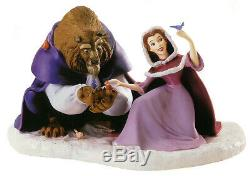 WDCC She Didn't Shudder At My Paw Disney Beauty And The Beast Belle Winter NIB
