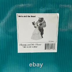 WDCC Tale as Old as Time from Disney's Beauty and the Beast in Box with COA