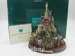 WDCC The Beast's Castle from Disney's Beauty and the Beast in Box with COA