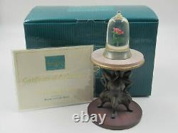 WDCC The Enchanted Rose from Disney's Beauty and the Beast in Box with COA