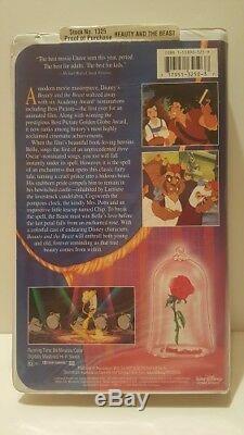 Walt Disney's Beauty and The Beast (VHS, 1992) Black Diamond The Classics