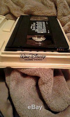 Walt Disney's Beauty and the Beast VHS Home Video (Black Diamond Edition)